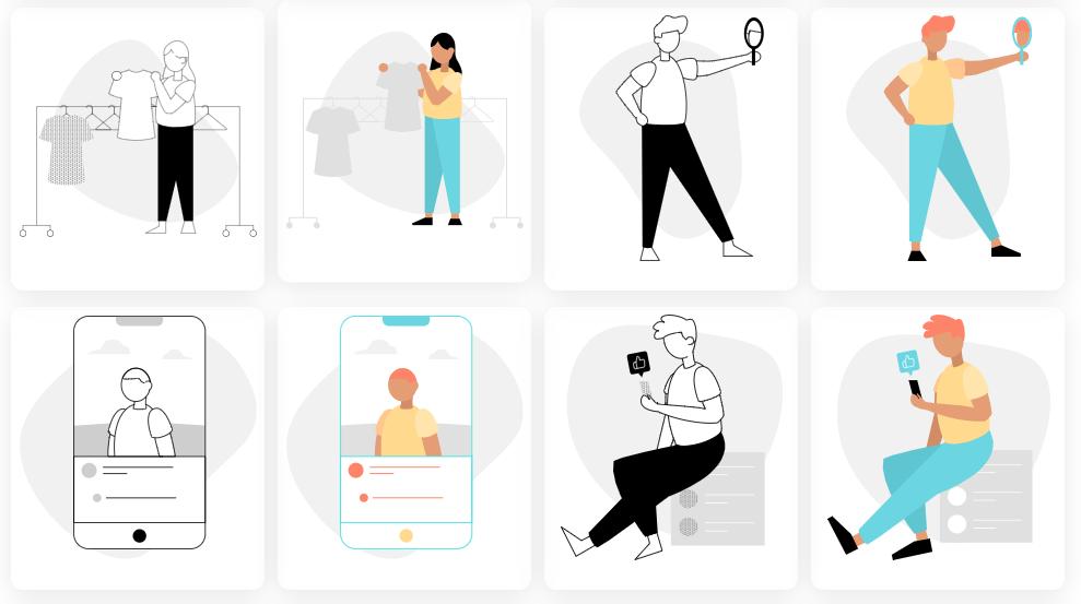 Kumpulan Ilustrasi SVG Menarik Siap Pakai Untuk Programmer